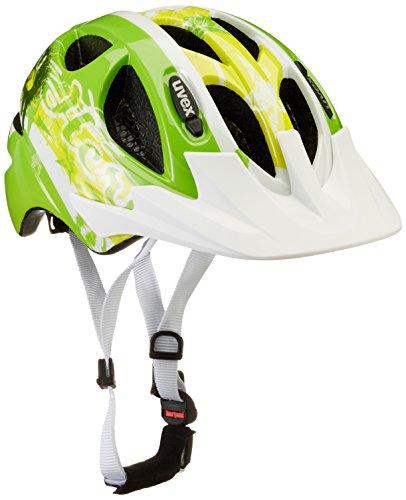 Uvex Kinder Fahrradhelm, Hero Green, 49-54, 4143172315