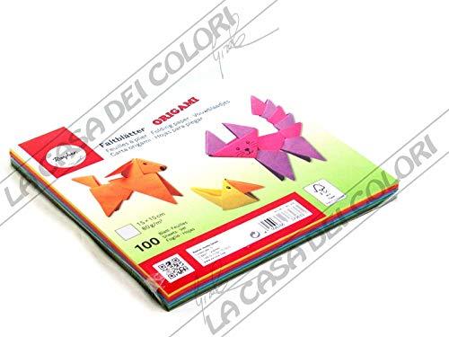 """Rayher Papier Origami dépliants Double Face FSC Mix Credit €"""" Lot de..."""