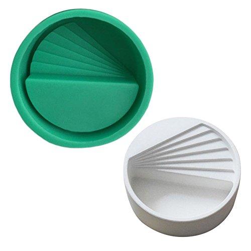 m, DIY Handgemachte Hausgemachte Fleischige Kleine Blume Topfform Einfache Persönlichkeit Zement Gips Topf Keramikform ()