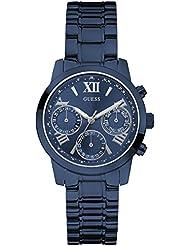 Guess Damen-Armbanduhr Chronograph Quarz Edelstahl beschichtet W0448L5
