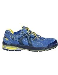 """Cofra 19050–000.w40Talla 40s1P SRC–zapatos de seguridad de """"Final de ocho, color azul y amarillo"""
