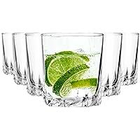 Arcoroc Gläser Set aus Kristallglas 6 teilig / Gin Gläser / Wassergläser / Füllmenge 250 ml / Hochwertige Qualität passend für jeden Anlass