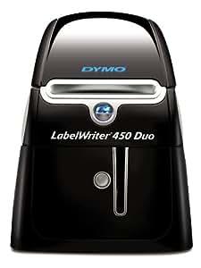 dymo labelwriter 450 duo label maker office. Black Bedroom Furniture Sets. Home Design Ideas