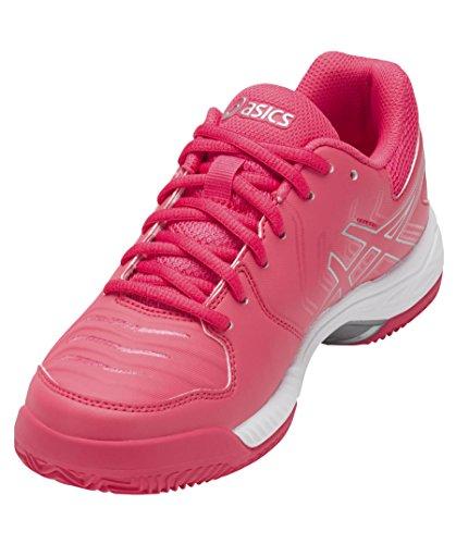 Asics Gel-Game 6 Clay, Scarpe da Tennis Donna ROSA BIANCO