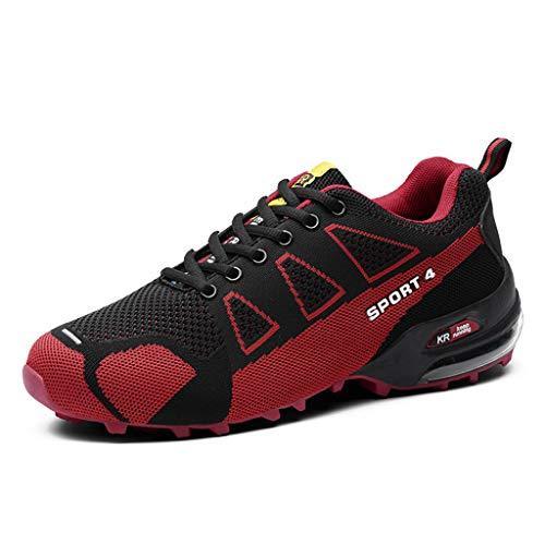 Otfi Schuhe Herren Damen New Traillaufschuhe Schwarz Rot Wasserdicht Grau Orange Dunkelblau Atmungsaktiv Sport Shoes Outdoor Schuhe Wanderschuhe