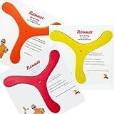 Bumerang Renner Copolymer - diverse Farben, keine Farbauswahl möglich