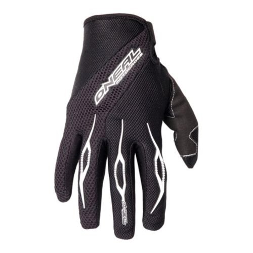 O'Neal Element Glove Handschuhe Schwarz Moto Cross Enduro Downhill Mountain Bike MTB DH, 0398R, Größe Large
