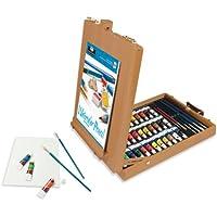 All Media Easel Artist Set 48pc, Oil, Acrylic, Watercolour