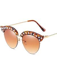 Wkaijc Metall Siamese Stilvoll Komfortabel Persönlichkeit Mode Sonnenbrille Im Freien Sonnenbrille,D