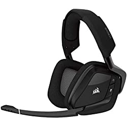 Corsair CA-9011152-EU Void Pro RGB Wireless Auriculares Gaming (PC, Inalámbricos, Dolby 7.1), Negro (Carbón)
