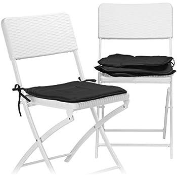Detex® Stuhlauflagen Boston 6er Set Wasserabweisend Kissen