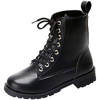 Botas,Botines cuña para Mujer Otoño Invierno 2018 Moda ZARLLE Botas Militares de Altas para Mujer Zapatillas Zapatos de Invierno Sneakers