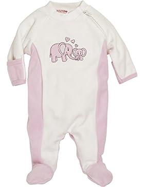 Schnizler Unisex Baby Schlafstrampler Nicki Schlafanzug Elefant, Frühchen, Oeko-tex Standard 100