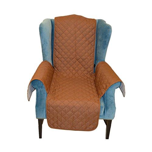 Preisvergleich Produktbild WINOMO Sesselbezug für Hunde und Katzen Schutz Sitz Auto Kratzfest und wasserdicht-185 x 53 cm (braun)