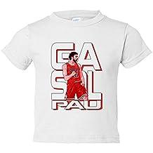 Camiseta niño Pau Gasol leyenda del baloncesto