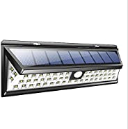90 LED Super Bright Wide Angle Solar Powered Light Waterproof Wall Lights for Garage Patio