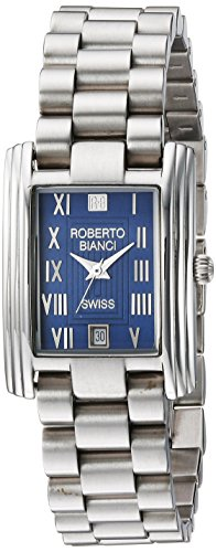 ROBERTO BIANCI WATCHES Women's 'Classico' Swiss Quartz Stainless Steel Casual Watch, Color:Silver-Toned (Model: RB18350)