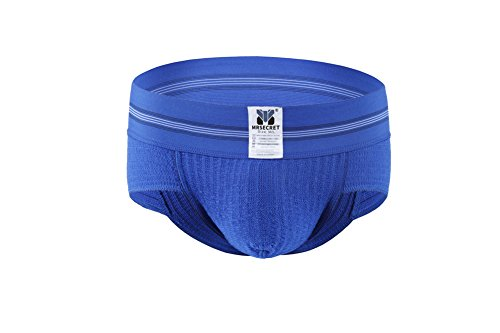 Mrsecret Herren-Unterwäsche aus Baumwolle e-Blue