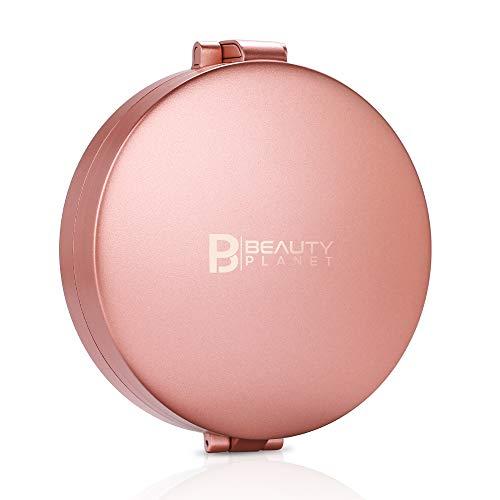 Espejo de aumento 20X con luz, Espejo de maquillaje iluminado portátil 20X/5X/1X, Espejo...