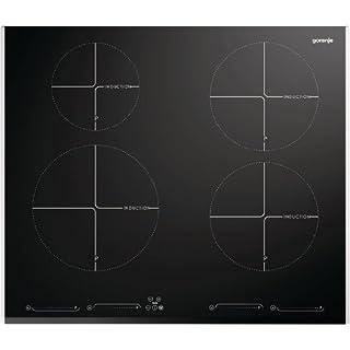 Gorenje IQ 641 AXC Kochfeld Elektro / 59,8 cm / 2 Kochsensoren IQ Cook / 5 automatische IQ-Kochmodi/schwarz