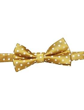 SUIT Herren Fliege Gordon-Bowtie-Q7027, Gelb (Dark Yellow 1508), One size