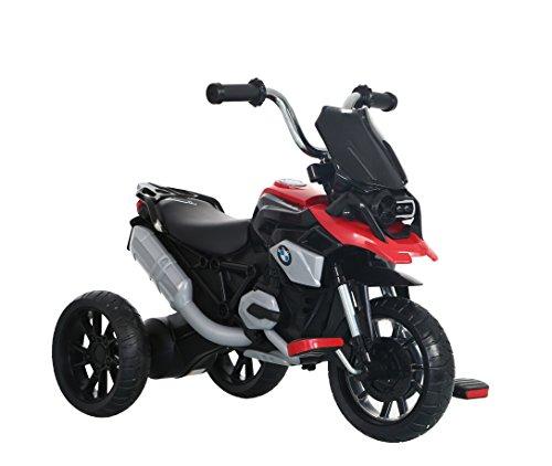 ROLLPLAY Dreirad, Für Kinder ab 2 Jahren, Bis max. 22 kg, BMW R1200 GS Motor Trike, Rot