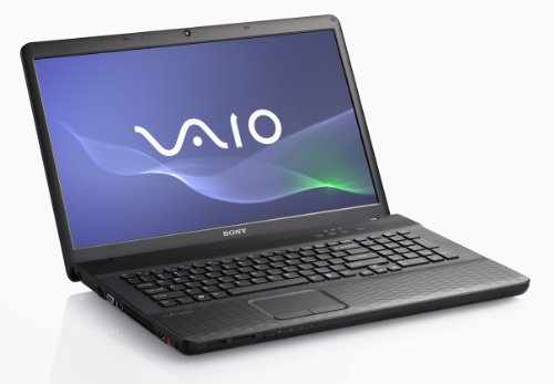 Sony Vaio EJ1Z1E/B 43,9 cm (17,3 Zoll) Laptop (Intel Core i5 2410M, 2,3GHz, 6GB RAM, 640GB HDD, NVIDIA 410M, Blu ray, Win 7 HP) (Vaio Ram Laptop)