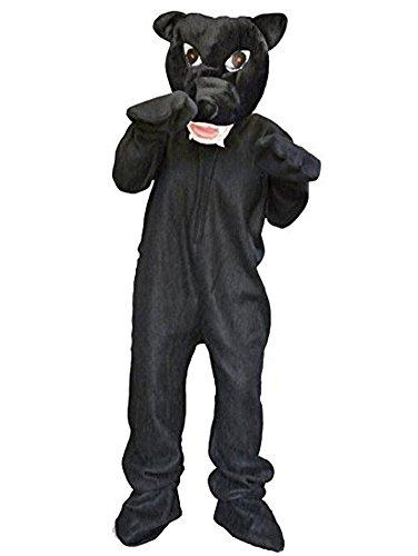 Panther-Kostüm, Zo02 Gr. M-XL, Panther-Faschingskostüme für Männer und -