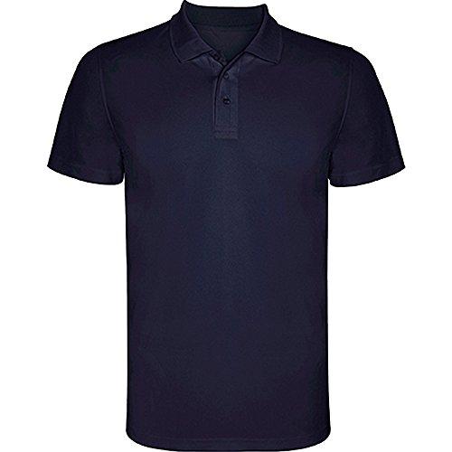 POLO MONZHA Herren Poloshirt Marineblau