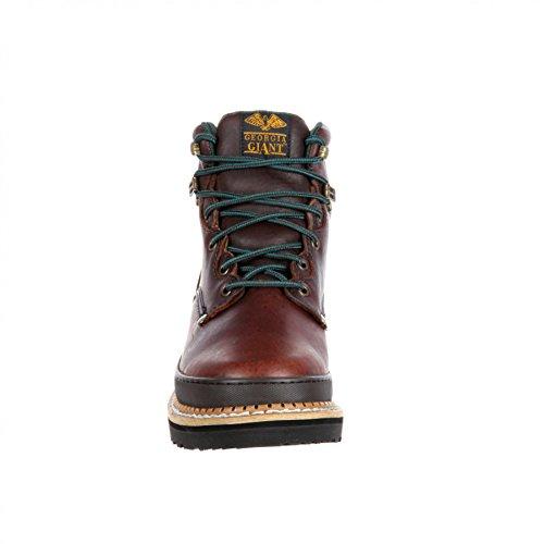 FB Fashion Boots Georgia Boot G6274 M Giant Brown/Herren Schnürstiefel Braun/Work Boot/Herren Schnürer Brown (Weite M)