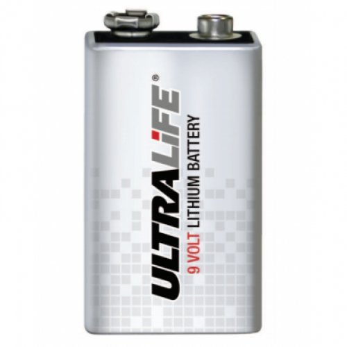 Ultralife - Batterie Lithium Industrie U9VL-J-P 9V 1.2Ah - Batterie(n)