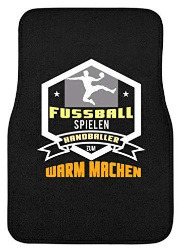 Schuhboutique Doris Finke UG (haftungsbeschränkt) Fußball spielen Handballer zum warm mach - Automatte -44x63cm-Schwarz