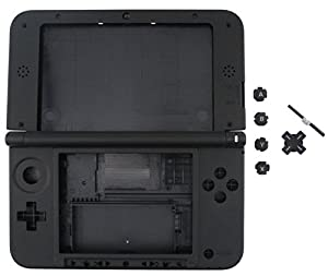New Nintendo 3ds Xl Console Replacement Full Shell Case Housing Silver Grey from NINTENDO