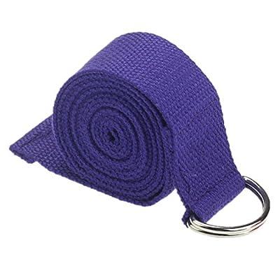 Ularmo 180 cm Yoga Pilates Stretch Bügel D-Ring-Gurt-Taillen Leg Fitness