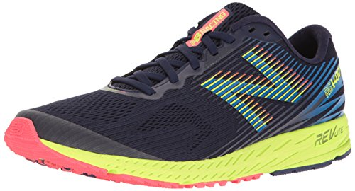 New Balance, Zapatillas de Running Hombre, Azul (Dark Denim/electric Blue), 44.5 EU