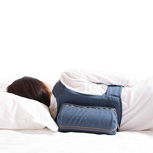 Anti-Schnarch-Rucksack von WoodyKnows - Verstellbarer Seitenschlafgürtel für weniger Atmungsdruck als Rückenschlaf, Aufblasbar & Komfortabel für Sofortige Schnarchhilfe