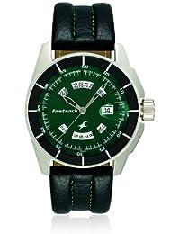 Fastrack Black Magic Analog Green Dial Men's Watch - NE3089SL03