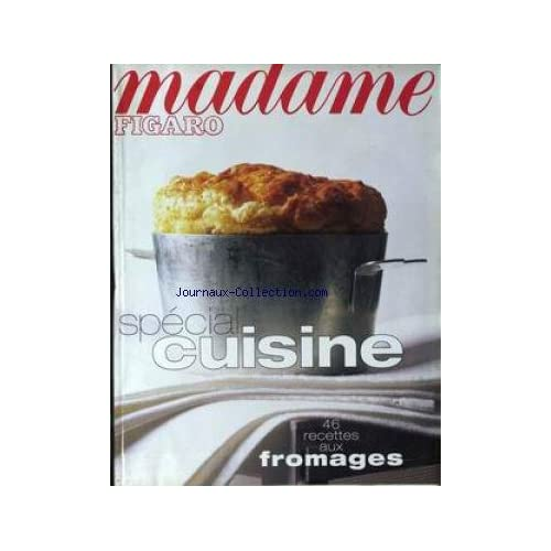 MADAME FIGARO du 16/11/1996 - SPECIAL CUISINE - FROMAGES.