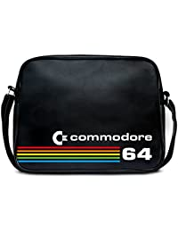 Shoulder Bag Commodore C64 - Messenger Bag - Nerd - Sports Bag - Retro -  black 77c4a0134c602
