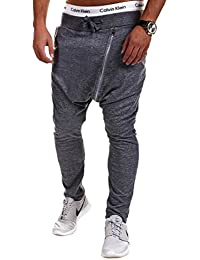 MT Styles Zip-Harem sarouel pantalon de sport P-709