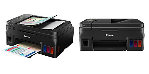 Canon Pixma G4000 Inkjet Printer (Wireless All-In-One for High Volume Printing with Fax) image