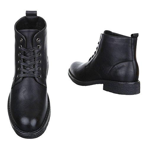 Ital-Design - Stivali Desert Boots Uomo Nero Tienda En Línea Barato xRKYT