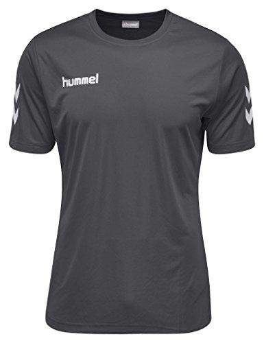 Hummel Damen Core Polyester Tee T-Shirt, Asphalt, M