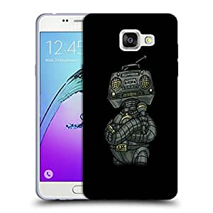 Snoogg Dope Shop Robot Designer Protective Back Case Cover For SAMSUNG GALAXY A5 2016