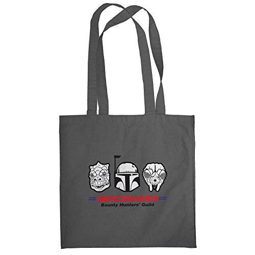 Texlab–Mercenaries–sacchetto di stoffa Grau