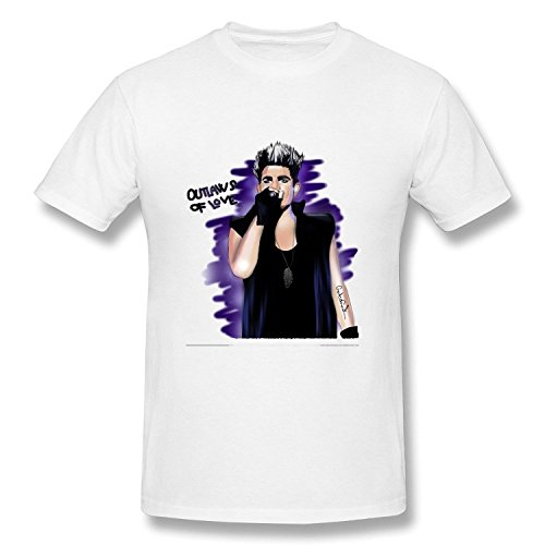 mens-adam-lambert-american-idol-t-shirt-white
