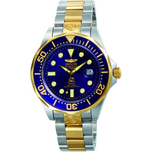 Invicta 3049 Pro Diver  Men's Wrist Watch Stainless Steel Automatic Blue Dial
