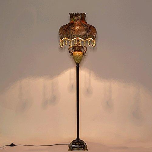 Lampe de plancher Lampe de chevet personnalisée luxe européen / chambre rétro salon étude lampes de chevet américains / E27 * 1 A+