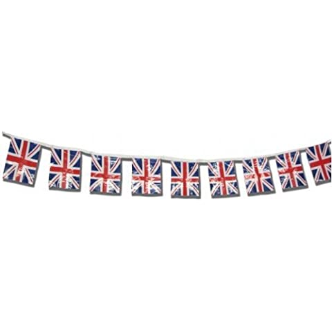 Bunting Union Jack on 9m Run Polyester by CC