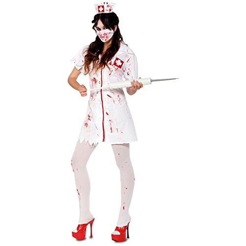mbie Krankenschwester Kostüm, groß (Sexy Männliche Krankenschwester Kostüme)